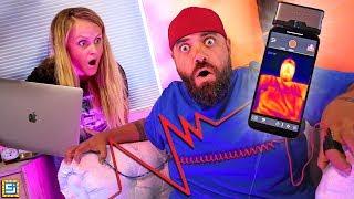 My Wife Found Out My BIG SECRET!! Lie Detector Challenge!