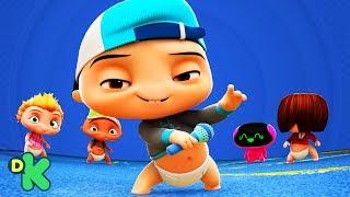 ¡Siguiendo el beat! | Mini Beat Power Rockers | Discovery Kids