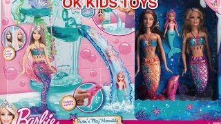 Barbie Swim N' Play Mermaids Dolphin Color Changing Hair Toys