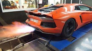Pushing my Lamborghini Aventador to the limits !