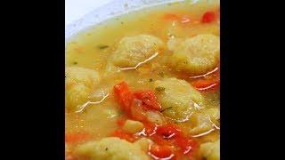 Posne knedle za supu