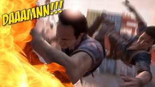 [HILARIOUS!] I CAN'T HANDLE ALL THIS F#%KING ACTION!!!! [UNCHARTED 4] [#08]