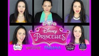 Princesas De Disney Medley (Español Latino) - Cover By Andrea Sousa