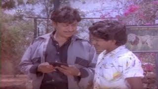 Puneeth Rajkumar Helps in Dr Rajkumar's investigation   Kannada Best Scenes   Parashuram Movie