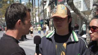 Kirk Cameron shares the Gospel with a Reincarnationist