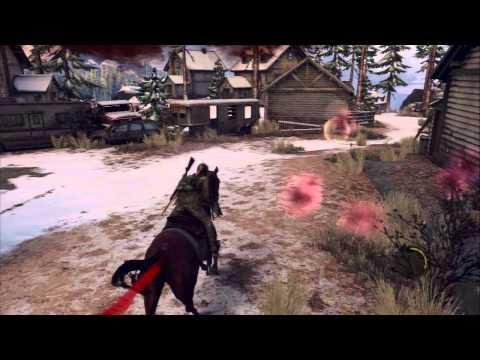 The Last of Us - Chap 9:  Ellie Escape David's Men Horse Sequence, Callus Shot Dead Scene PS3
