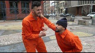 ESCAPED PRISONERS PRANK!