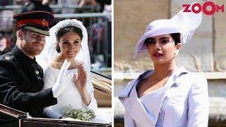 Priyanka Chopra Dazzles As She Attends Prince Harry And Meghan Markle