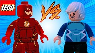 LEGO Marvel Vingadores (Avengers) The Flash VS Mercúrio em Briga de Herois #10