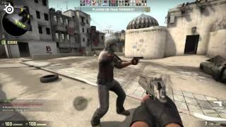 Eye Tracking overlay in Counter-Strike: GO [Tobii Eye Tracker 4C]