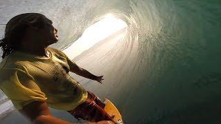 GoPro: Sunset Barrel-Slingin' with Mikala Jones