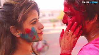 Holi Video | Holi Love Story | Hamari Adhuri Kahani | Latest Romantic Prank Video 2018
