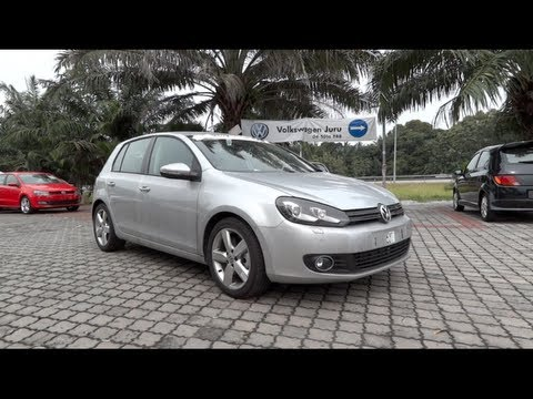 2012 Volkswagen Golf TSI SE Start Up and Full Vehicle Tour