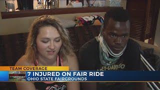 Victim injured on Ohio State Fair ride speaks out