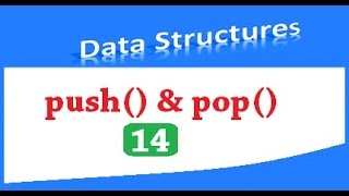 Data structures - Implementation of stacks