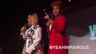 ' Mary Mary '  Season 6 Premiere Tina & Erica Campbell Perform Live in NYC The Cutting Room