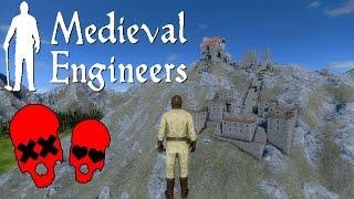 Disaster! | Building Vader Hall Part 5 | Medieval Engineers #5