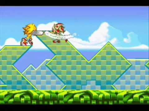 Super Sonic vs Super Shadow Test