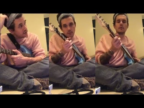 John Mayer Gives Guitar Lessons to his fans | Instagram Live Stream | 4 February 2018