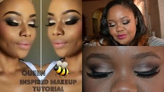 ♡ A Bonang Matheba Inspired Makeup Tutorial ♡ Nicole Khumalo ♡ South African Youtuber ❤︎