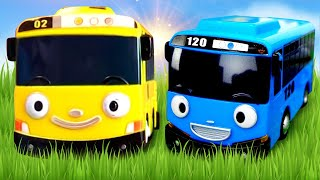 Tayo The Little Bus Toys. 타요 도로놀이 장난감 Racetrack. Toy Cars and Buses for kids.