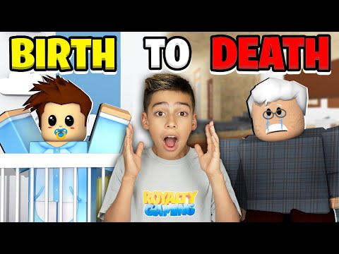 BIRTH to DEATH in Roblox Brookhaven Emotional Ending Royalty Gaming