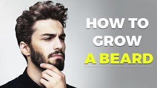 HOW TO GROW A BEARD FASTER | Grow Facial Hair | Alex Costa