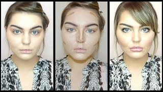 How to: Contour & Highlight Round Face + Baking techniques