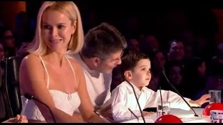 Simon Cowell's Son Eric Judging DEBUT on BGT | Auditions 2 | Britain's Got Talent 2017