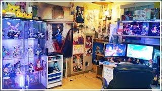 Ken's Anime Studio/Room Tour 2017