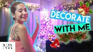 MAG CHRISTMAS DECORATION TAYO AT ANG FINAL LOOK NG UNICORN/PONY CHRISTMAS TREE! | Nina Rayos 💋