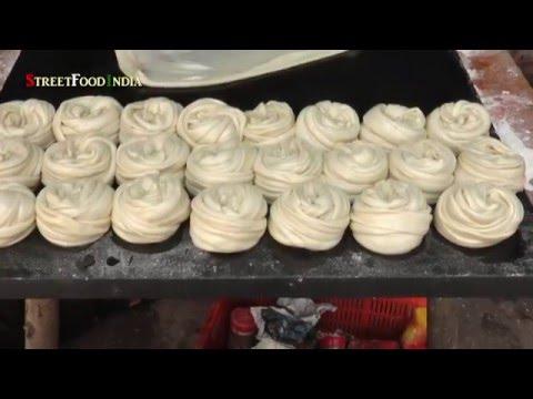 South Indian Street Food Parota   - Indian Foods - Parata- Andhra Foods