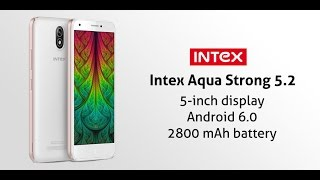 Intex Aqua Strong 5.2 Unboxing Hands on Review Benchmark