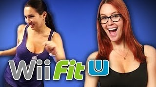 Nerds Get Physical on the Wii Fit U!