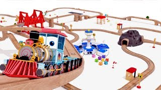 appMink Steam Train - Kids Learn ABCD - Fire Truck Animation - Wheels On The Bus Nusery Song