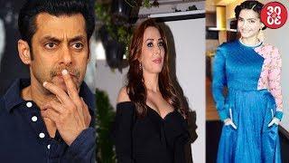 Salman Khan Leaves Iulia Half Way & Why? | Sonam Kapoor Shares Beau Anand