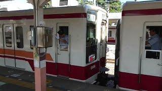 【東武鉄道 6050系 分割シーン】東武鉄道 6050系 快速 下今市 分割シーン