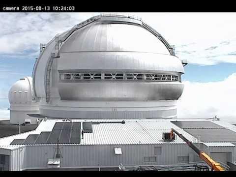 Gemini North Telescope Powered By The Sun