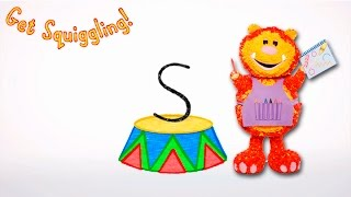 Get Squiggling Letters | Letter S