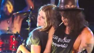 Slash Sweet Child O Mine live whit Fergie HD