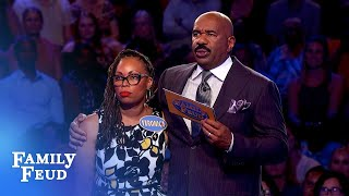 Veronica & Mello are raking in the Fast Money! | Family Feud