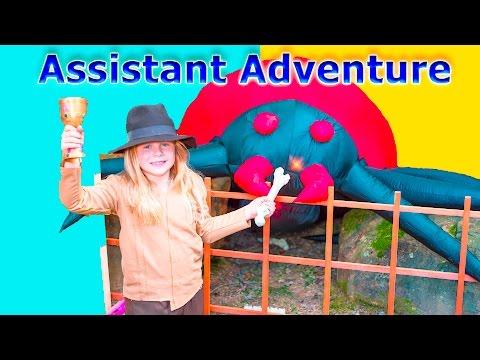 Xxx Mp4 ASSISTANT IndyDiana Jones TheEngineeringFamily Spooky Treasure Hunt Adventure Kids Video 3gp Sex