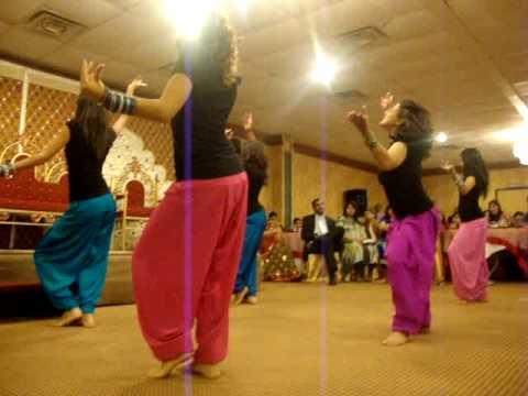 Shaadi Dance For Rahil and Munira Bhangra Sisters