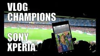 VLOG Champions League con SONY XZ1 y me declaro a un jugador