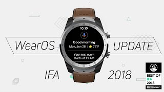 New Wear OS 2018 Update: What's New?