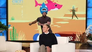 Ellen Releases Her Own 'Baby Shark' Video!
