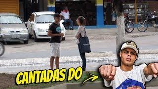 ABORDANDO GAROTAS COM FRASES DO MC LAN #GersonResponde02