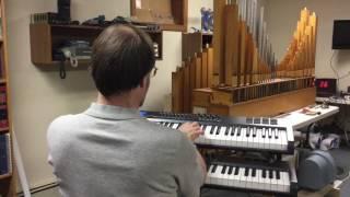 Demo of a Small Unit Pipe Organ