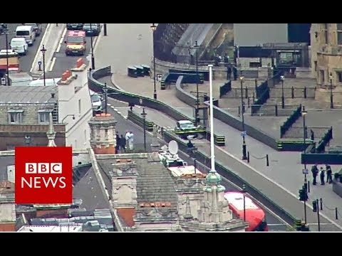 Xxx Mp4 Westminster Car Crash Aerial Footage Of The Crash BBC News 3gp Sex
