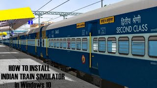 How To Install MSTS Indian Railways in Windows 10